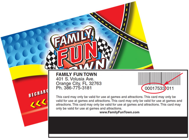 Family Fun Town Fun Card