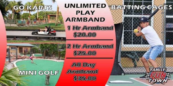 Unlimited Play Armband